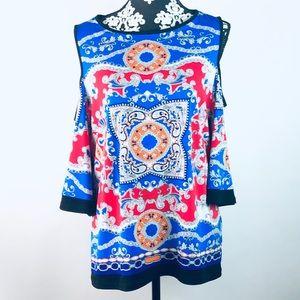 Susan Graver boho blouse
